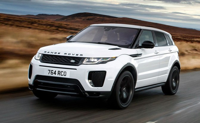 2018 Range Rover Evoque Discovery Sport Models Get New Engines