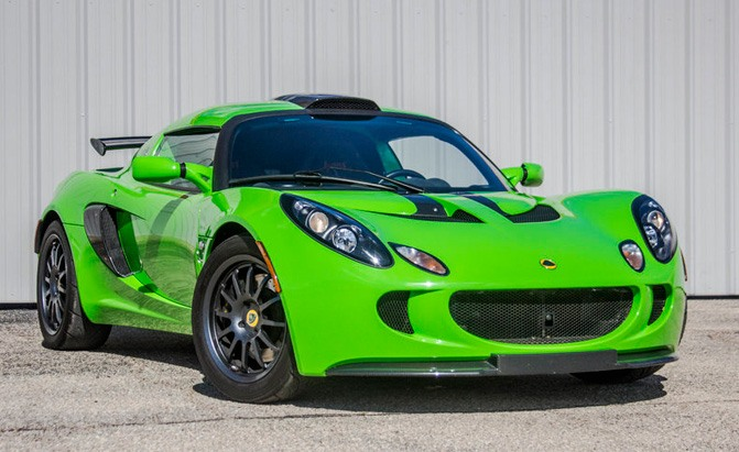 jerry seinfeld 2009 lotus exige s260 sports coupe