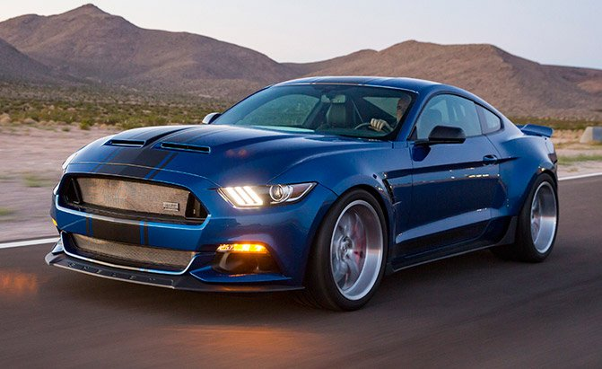 shelby widebody super snake concept
