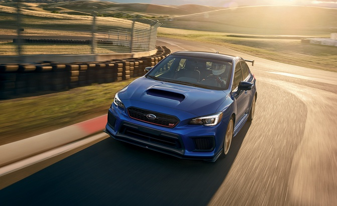 Subaru Wrx Sti Getting More For 2019
