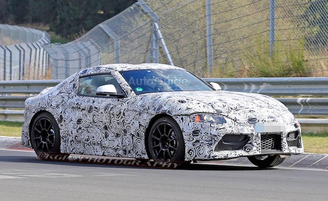 Toyota Supra Leaves its BMW Showing in New Spy Shots