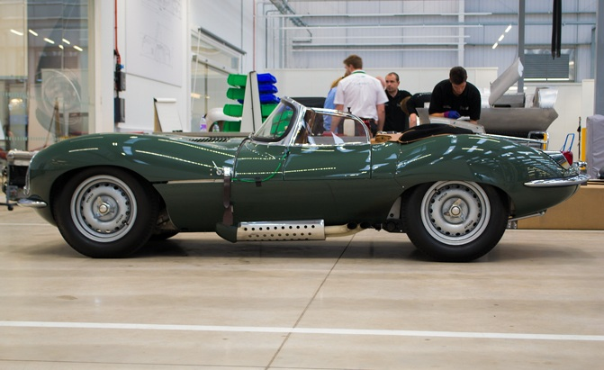 Jaguar Land Rover's Classic Works Facility is a Treasure Trove of England's Finest
