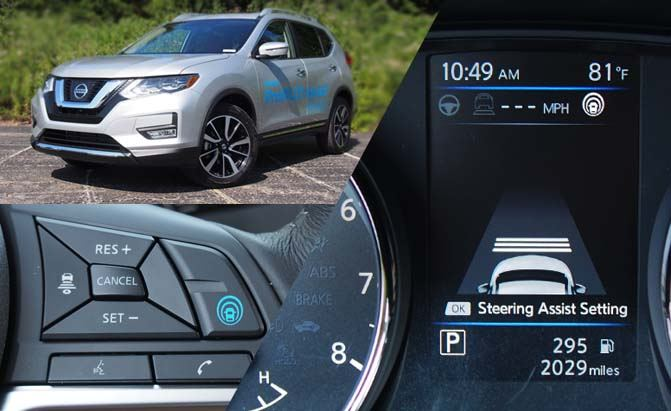 Nissan ProPILOT Assist Takes Adaptive Cruise Control to the