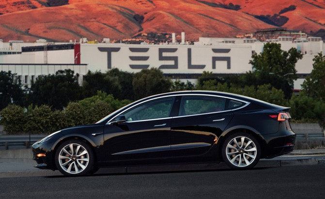 first production tesla model 3