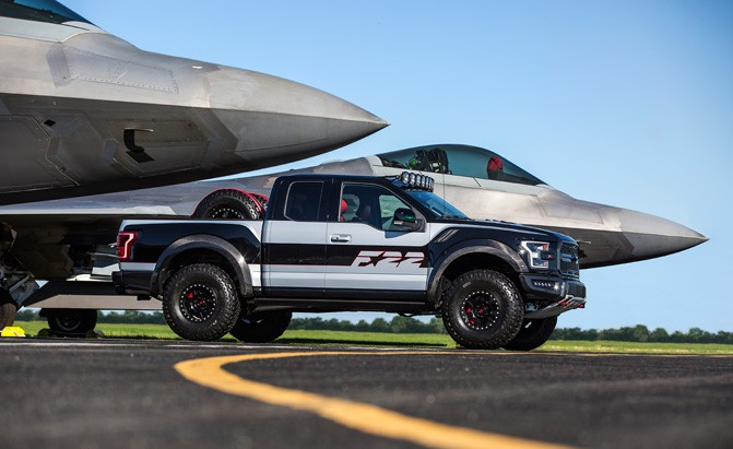 Custom Ford F-150 Raptor Nets $300K at Auction