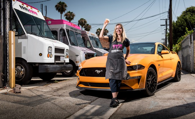 ford mustang ice cream