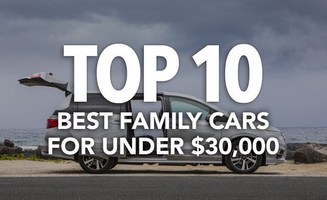 Top 10 Best Family Cars For Under 30 000