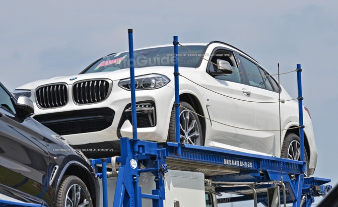 bmw x4 spy photo