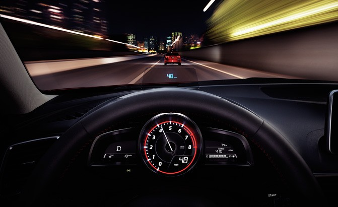 mazda head-up display