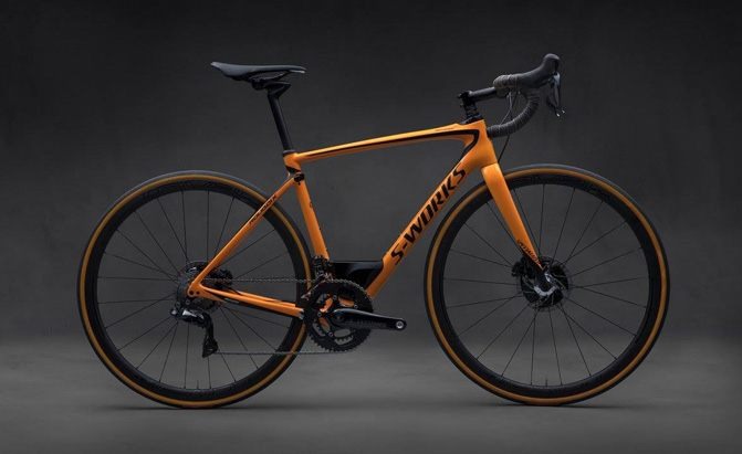 mclaren specialized s-works roubaix bicycle