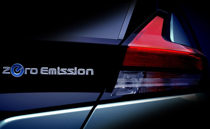new nissan leaf teaser
