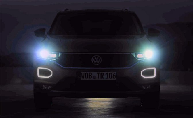 volkswagen t-roc teaser video