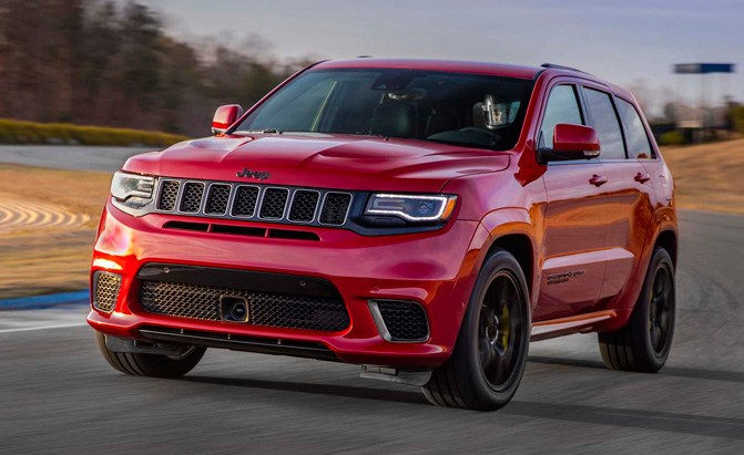 2018 jeep grand cherokee tracckhawk