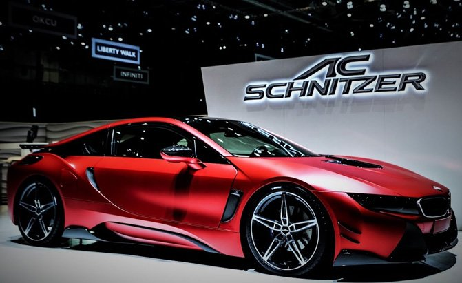 Tuners Take The Bmw I8 To The Nurburgring Get A Somewhat