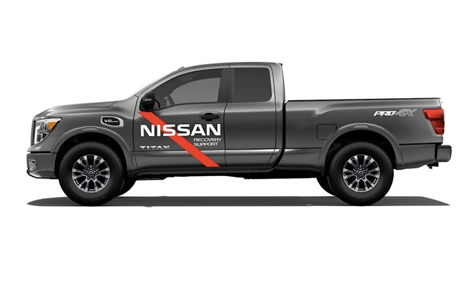 nissan titan hurricane harvey