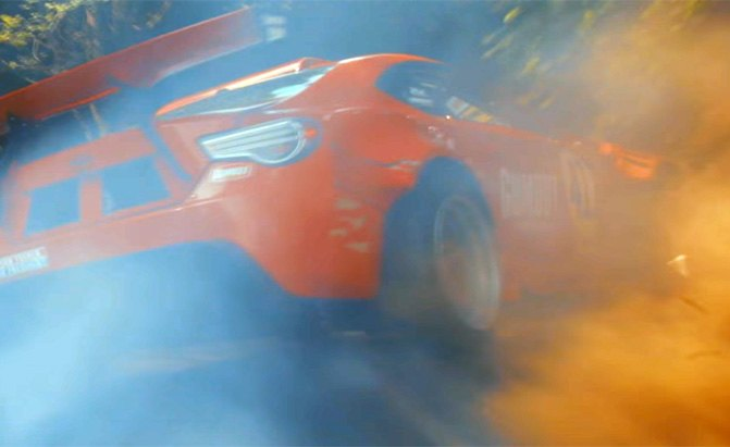 toyota gt-4586 drifting video