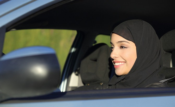 women in saudi arabia now able to drive