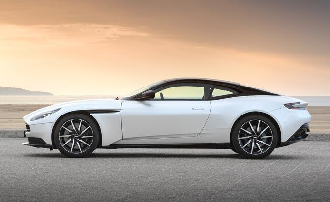 Why The Aston Martin Db11 V8 Sounds Different From An Amg With The
