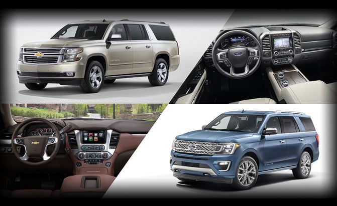 Chevrolet Suburban or Ford Expedition Max?