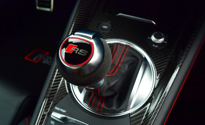 audi rs shifter