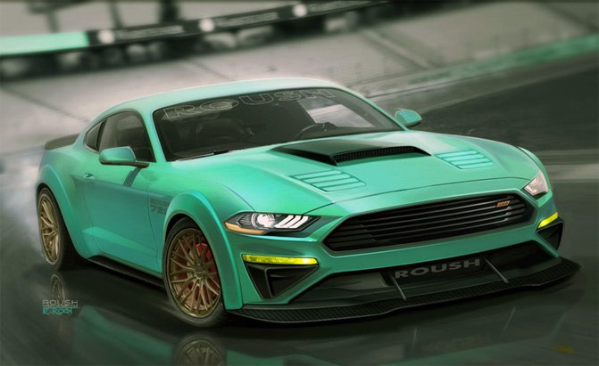 ford mustang 2017 sema show preview