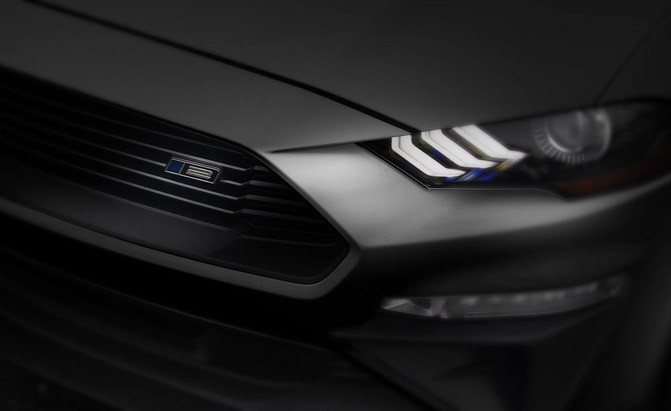 roush 2018 ford mustang teaser