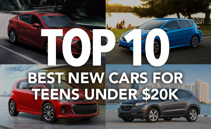 top 10 best new cars for teens under 20k