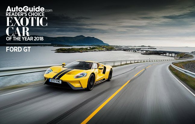 2018 ford gt autoguide.com reader's choice exotic car of the year
