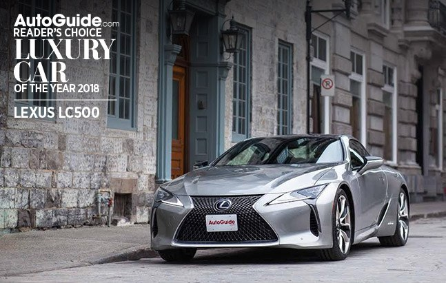 lexus lcf500 autoguide.com reader's choice luxury car of the year