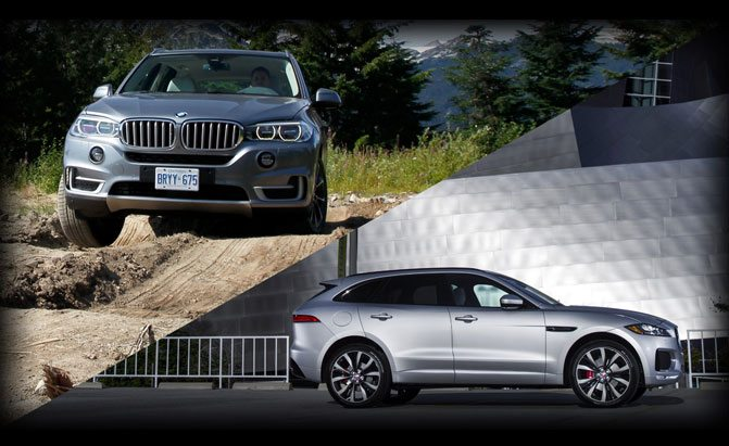 Jaguar F-Pace S or BMW X5 xDrive35i?