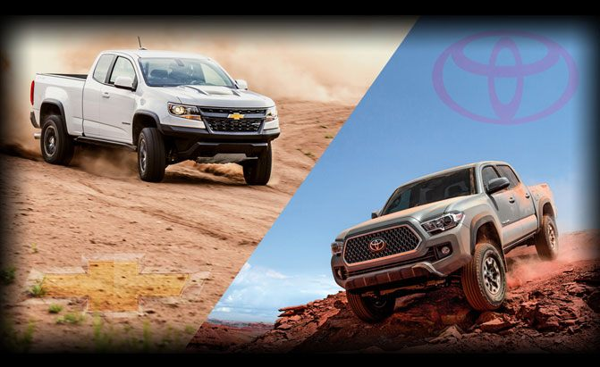 Chevrolet Colorado ZR2 or Toyota Tacoma TRD Pro?