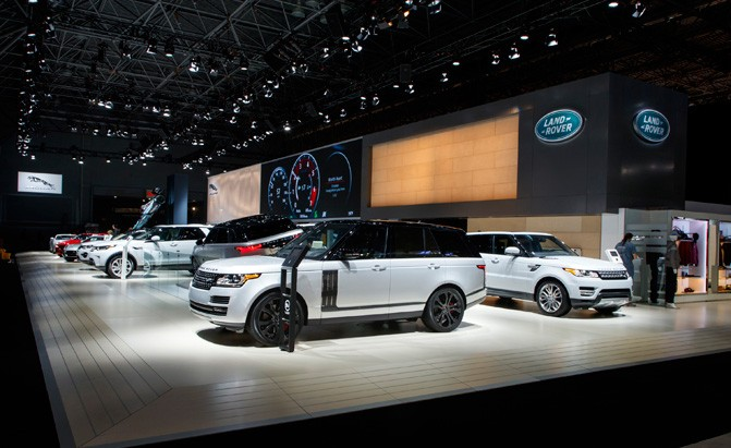 jaguar land rover new york auto show