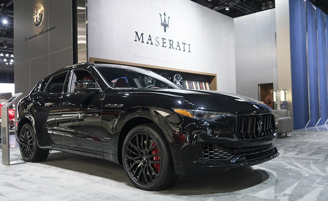 maserati levante nerissimo black package