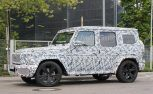 mercedes-benz g-class spy photos