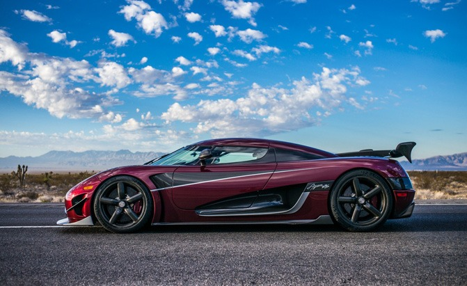 record-setting koenigsegg agera rs