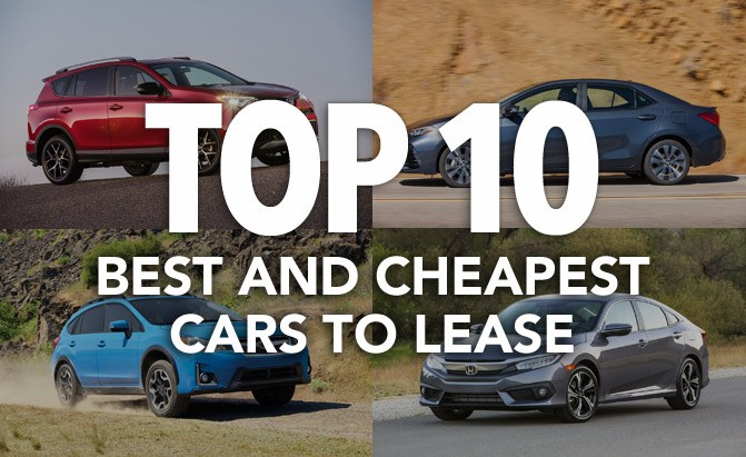 top 10 best and cheapest cars to lease