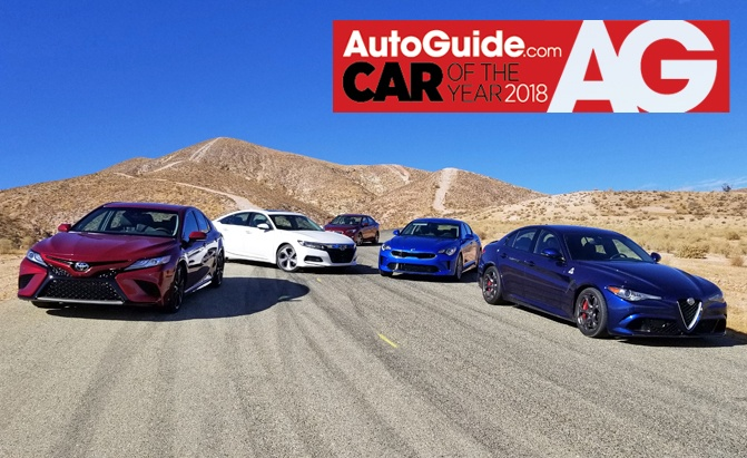 2018 COTY AutoGuide Contenders