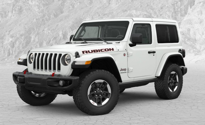 You Can Now Configure Your Own 2018 Jeep Wrangler Jl Autoguide News