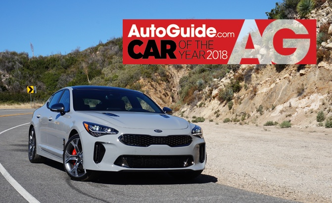Kia Stinger Wins Autoguide 2018 Car Of The Year Award