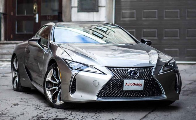 5 000 Offered On Lexus Lc 500 And 500h
