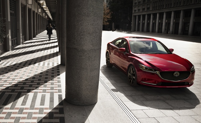 2018 Mazda6 with SkyActiv X