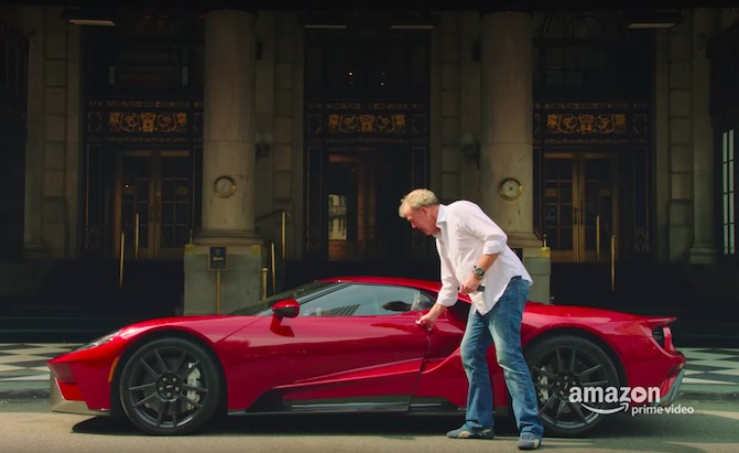 Clarkson Takes On Nyc Traffic In A Ford Gt In Latest Grand Tour Trailer Autoguide Com News