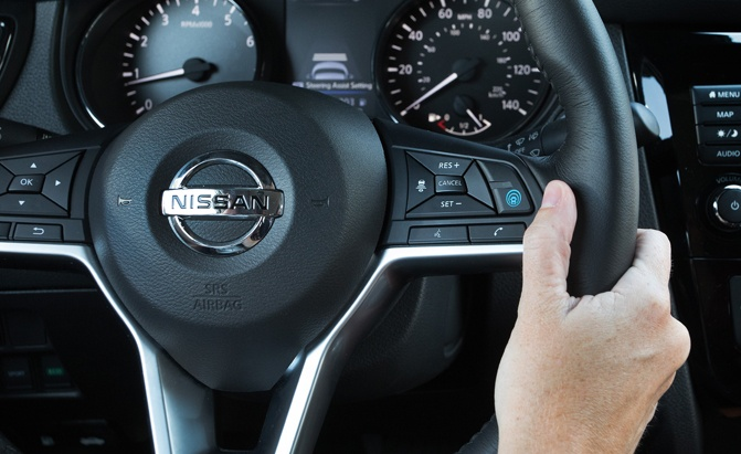 Nissan ProPILOT Assist technology reduces the hassle of stop-and