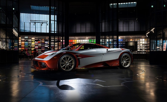 New Pagani Huayra Lampo Is Inspired By A Turbine Powered Fiat