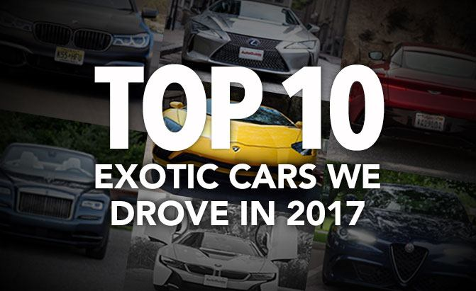 Top 10 Exotic Cars We Drove in 2017