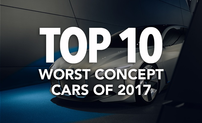 Top10 Worst Concept Cars of 2017