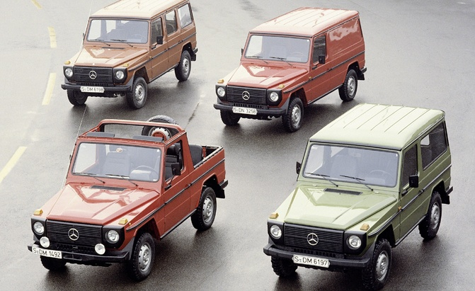 The Road Travelled: History Of The Mercedes Benz G Wagen