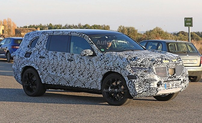 mercedes-benz gls spy photos