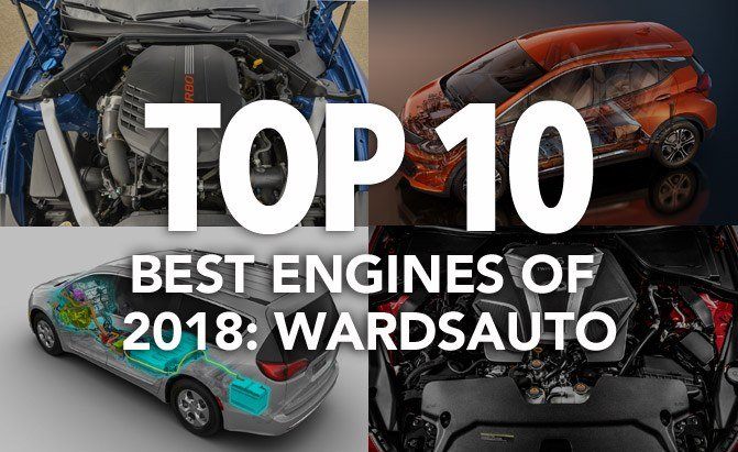 top 10 best engines of 2018 wardsauto