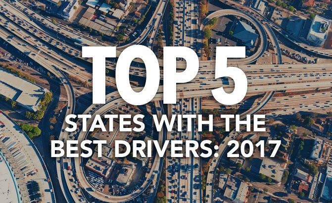 top 5 states with the best drivers